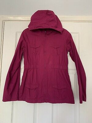 Gap Girls Purple Parka light coat aged 12- 13 Years  ⭐️Great condition⭐️ 13XL