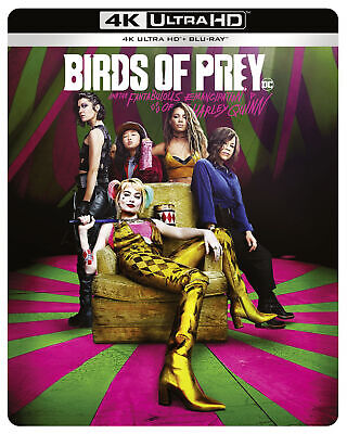 Birds of Prey (and the Fantabulous Emancipation of One Harley Quinn) (Steelbook)
