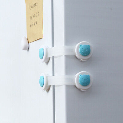 Safety Lock Drawer Refrigerator Cupboard Security Lock Baby Protective Equipment