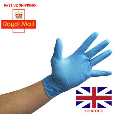 STRONG Medical Disposable Powder Free Latex Nitrile  Protective Gloves  UK Stock