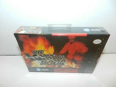 The Ignition Factor Super Nintendo SNES Game Brand New Sealed FS