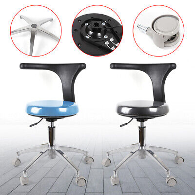Dental Medical Chair for Dentist Doctor Stool Adjustable Mobile Chair PU Leather