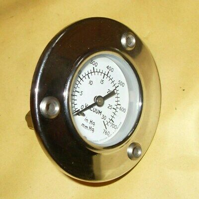 S Smith & Sons Vacuum Gauge - As Photo's