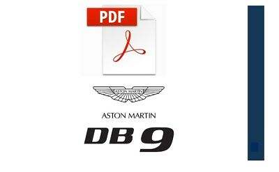 PDF ASTON MARTIN DB9 WORKSHOP SERVICE MANUAL 2004 2005 2006 2007 2008...2011