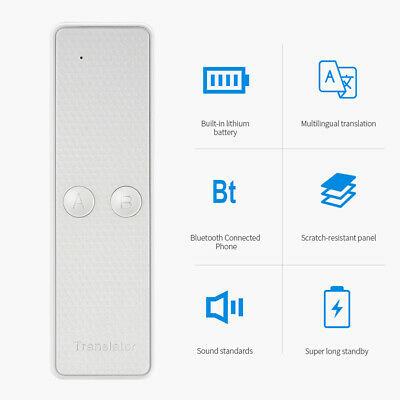 68 Languages Translaty MUAMA Two Way Enence Instant Real Time Voice Translator