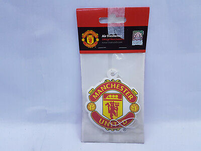 Manchester United Fc Air Freshener Freshner Car Accessory Room Office Official