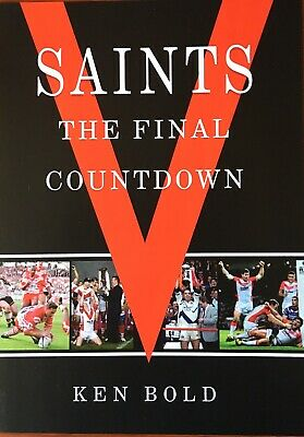 Saints: The Final Countdown. Brand New A4 Illustrated Rugby League Book.