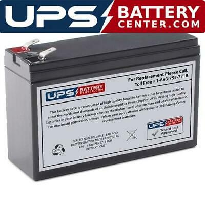 12V 7Ah F2 6 Compatible Battery Set for Opti-UPS DS3000B-RM UPS by UPSBatteryCenter