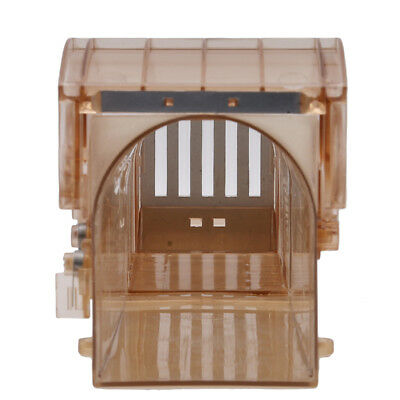 Squirrel Cage Medial Dark Brown Blower Plastic Easy Mouse Pedal Trap Cage FB1