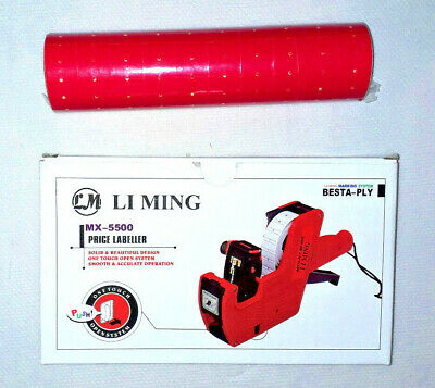 Price labelers - tape gun - to price items - with Price Tag STICKERS Price label