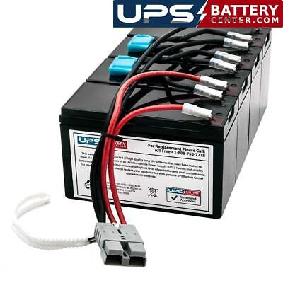 APC Smart UPS 1400 Rack Mount 3U SU1400RM3U Compatible Replacement Battery Pack by UPSBatteryCenter
