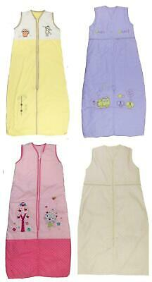Baby Sleeping Bag 0.5 Tog 1 Tog Ideal for Warmer Weather 0-6 months up to 3-6y