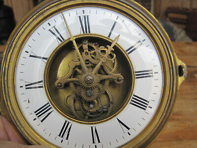 French Skeleton Clock Movement by FARCOT - Brocot escapement mid 19th Cent