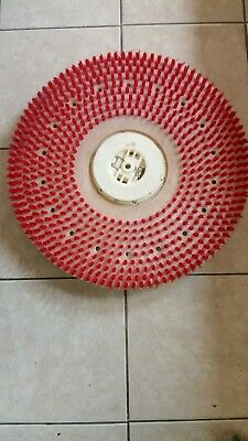 """Malish 20"""" Grit Rotary Brush with Standard Clutch Plate("""