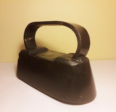 Rare Antique Original Collectable Displayable Polishing Iron