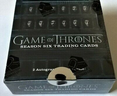 Rittenhouse Game of Thrones Season 6 Trading Cards Hobby Box Factory Sealed