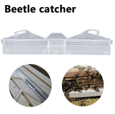 Reusable Hive Baitable Beetle Trap Without Poison Chemicals Beekeeping Tool SH