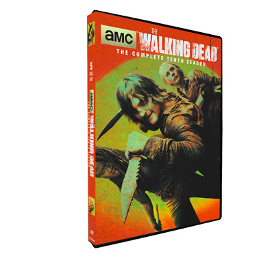 The Walking Dead Season 10  (4 dvd ) NEW NEW NEW DVD !!!!!!!