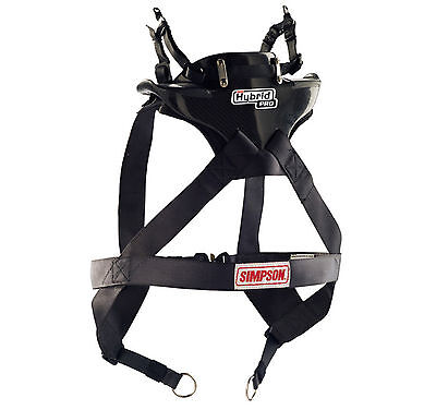 Simpson Hybrid Pro Lite Carbon FIA Approved Racing/Rally - Med / Large *Ex Disp*