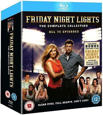 FRIDAY NIGHT LIGHTS  The Complete Series (BLU-RAY BOX) LIKE NEW