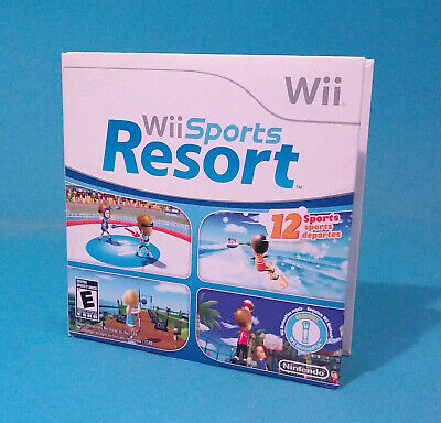 Nintendo WII Wii Sports RESORT game Not for Resale