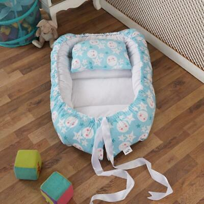Baby Nest with pillow Sleeping Basket Portable Travel Bed