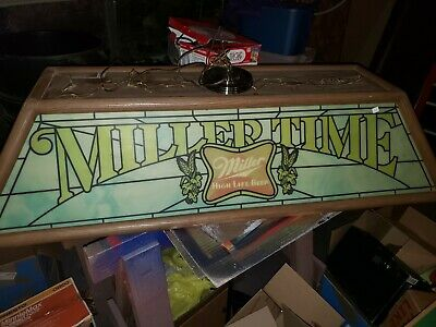 Original Nice Miller Time High Life Pool Table Light