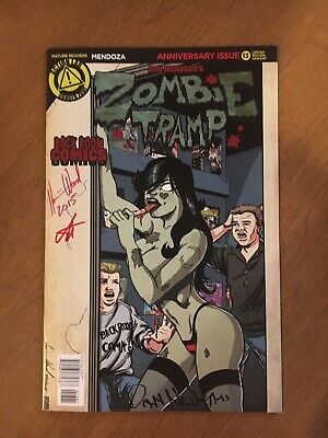 Zombie Tramp #13 Rare Blank Cover Variant x1
