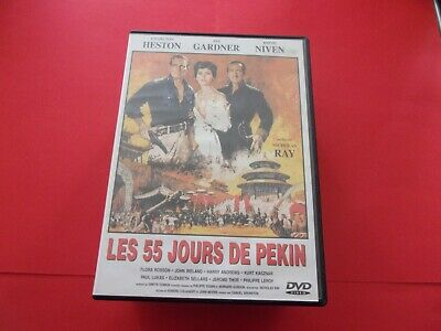 "DVD,""LES 55 JOURS DE PEKIN"",charlton heston,ava gardner,david niven,(5087)"