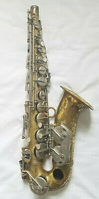 Rare! Antique Martin Busine Saxophone 17011