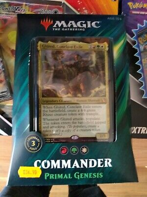 Magic The Gathering Commander Primal Genesis Deck