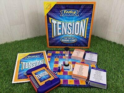 Tension The Zany Crazy Naming Game Cheatwell Games 06109 Family Games Word