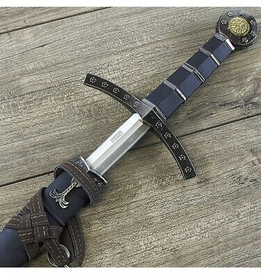"""23"""" KING ARTHUR EXCALIBUR KNIGHTS OF THE ROUND TABLE STEEL SWORD Fantasy"""