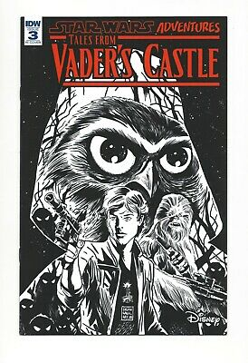 Star Wars Adventures Tales from Vader/'s Castle #4 1//10 Variant STOCK PHOTO 2018