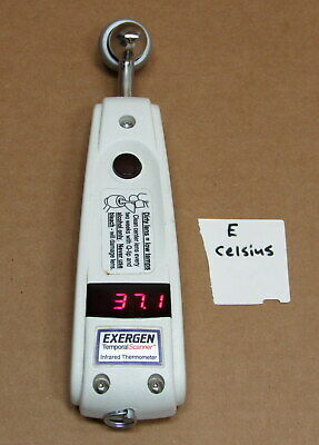 Exergen Tat 5000 (CELSIUS) Arterial Temperature Temporal Scanner Thermometer
