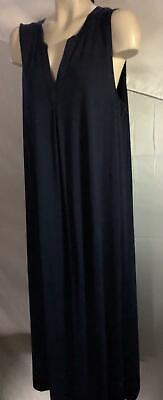 NEW $98 XL Saks Fifth Ave black label collection lounge dress / nightgown cotton