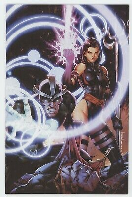 X-Men 8 Marvel 2020 NM Jay Anacleto Virgin Variant Psylocke GGA Jim Lee Homage