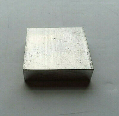"1/2"" Thick X 2"" Wide Square Aluminum Plate 6061 Alum Bar 2"" X 2"" Square Block"