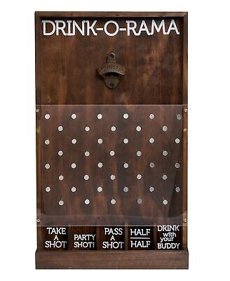 Studio Mercantile Wooden Drink-O-Rama Party Game of Chance