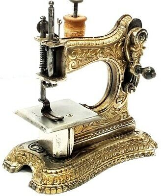 Antigua maquina de coser de viaje MULLER 6 rare antique sewing machine 1898
