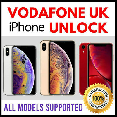 VODAFONE UK UNLOCK CODE SERVICE for iPhone 11/11 Pro/11 Pro Max