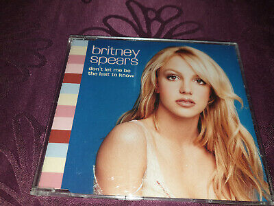 Britney Spears / Dont let me be the last to know - Maxi CD