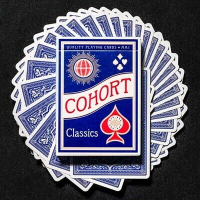 Mazzo di carte Cohorts Blue Playing Cards