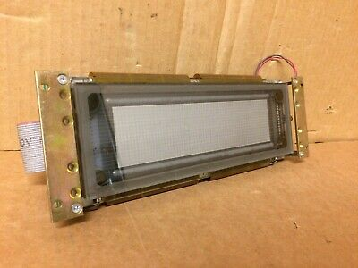 ISE Electronics GU256X64-W342 PW-177-100-101 VFD Dot Matrix Display Screen