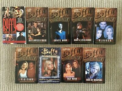 Buffy The Vampire Slayer 9 books