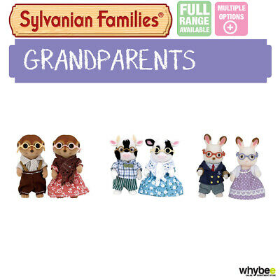 Sylvanian Families Grandparents Full Range Choose Your Set Brand New In Box