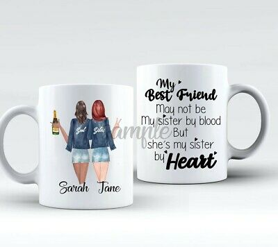 Personalised Best Friend Mug! with choices (HAVE YOUR OWN VERSE OR SAYING)