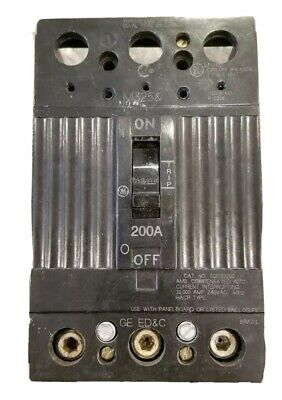 GE TQD32200, 200 Amp, 240 Volt, 3 Pole, Circuit Breaker GREAT WORKING CONDITION