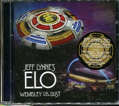 Jeff Lynne's ELO Wembley or Bust 3-disc CD and Bluray NEW