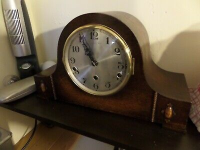 Restored 1920 German Westminster  Chime Mantel Clock    111 Photo Diary Of Work